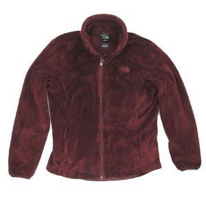 The North Face Fleece Jacket Maroon Velvet